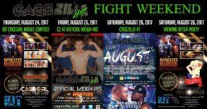 CageZilla 47 Fight Weekend- cagezilla.com