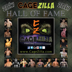 CageZilla Hall of Fame Inaugural Class- cagezilla.com